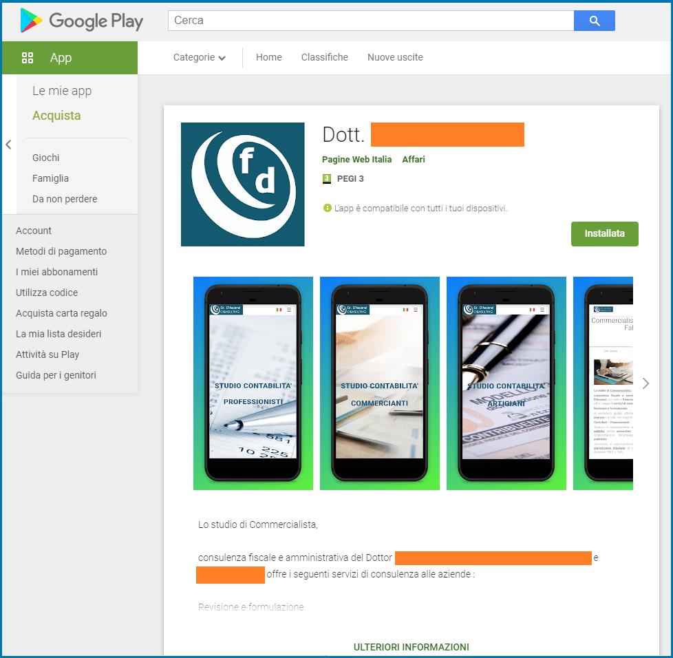Store-android-scaricare una-App